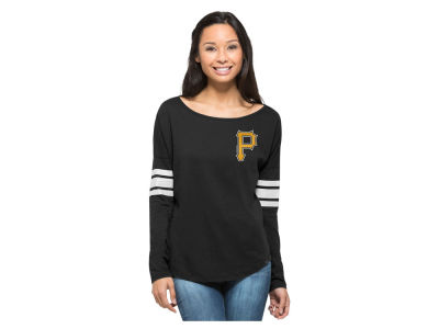 Pittsburgh Pirates MLB Women's Courtside Long Sleeve T-Shirt