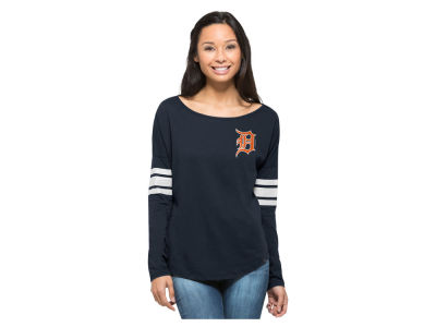 Detroit Tigers MLB Women's Courtside Long Sleeve T-Shirt