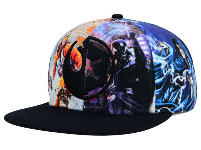 Star Wars All Over Sublimation Snapback Hat