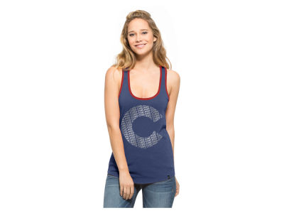 Chicago Cubs MLB Women's Clutch Foil Tank