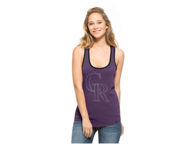 Colorado Rockies MLB Women's Clutch Foil Tank