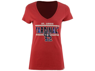 St. Louis Cardinals '47 MLB Women's Speckle Flanker T-Shirt