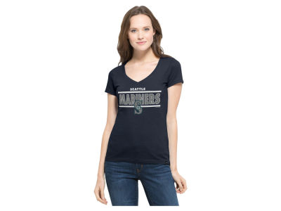 Seattle Mariners MLB Women's Speckle Flanker T-Shirt