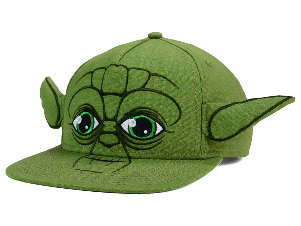 Star Wars Youth Yoda Big Ears Snapback Hat Lidscom