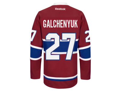 Montreal Canadiens Alex Galchenyuk Reebok NHL Premier Player Jersey