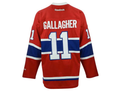 Montreal Canadiens Brendan Gallagher Reebok NHL Premier Player Jersey