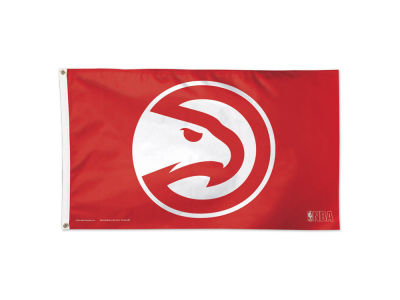 Atlanta Hawks New Logo 3x5 Deluxe Flag