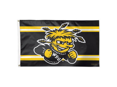 Wichita State Shockers 3x5 Deluxe Flag