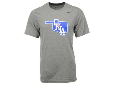 Oklahoma City Dodgers LTS MiLB Logo Legend T-Shirt