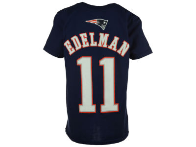 New England Patriots Julian Edelman NFL Youth Mainliner Player T-Shirt