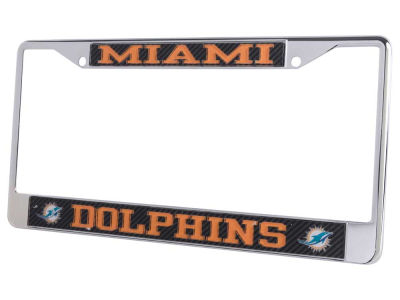 Miami Dolphins Carbon Laser Frame