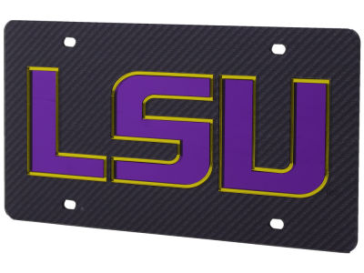 LSU Tigers Carbon Laser Tag
