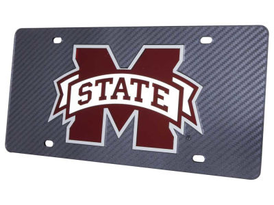 Mississippi State Bulldogs Carbon Laser Tag