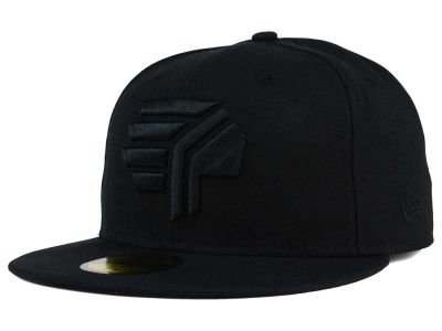 Syracuse Chiefs New Era MiLB Black on Black 59FIFTY Cap