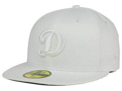 Oklahoma City Dodgers New Era MiLB White on White 59FIFTY Cap