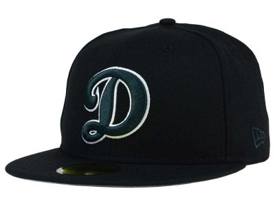 Oklahoma City Dodgers New Era MiLB Black Graphite 59FIFTY Cap