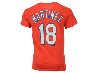 St. Louis Cardinals Carlos Martinez Majestic MLB Men's Official Player T-Shirt