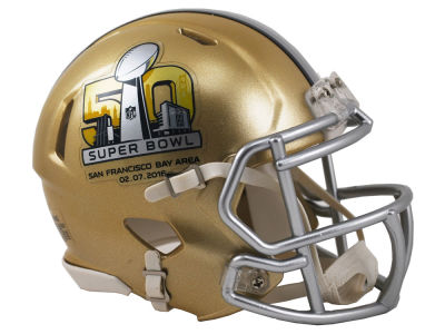 Super Bowl 50 Super Bowl 50 Speed Mini Helmet