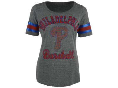 Philadelphia Phillies GIII MLB Women's Double Play T-Shirt