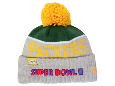Green Bay Packers New Era NFL Super Bowl Sport Knit