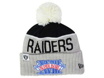 Los Angeles Raiders New Era NFL Super Bowl Sport Knit