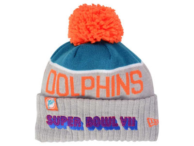 Miami Dolphins New Era NFL Super Bowl Sport Knit