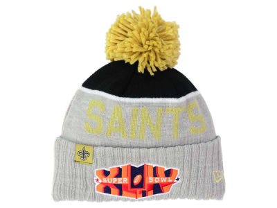 New Orleans Saints New Era NFL Super Bowl Sport Knit