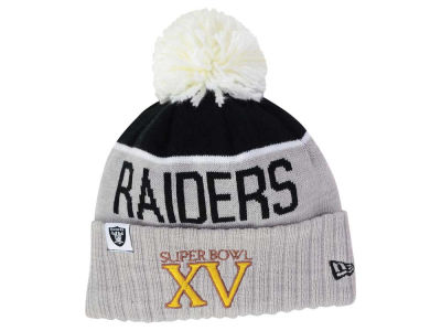 Oakland Raiders New Era NFL Super Bowl Sport Knit