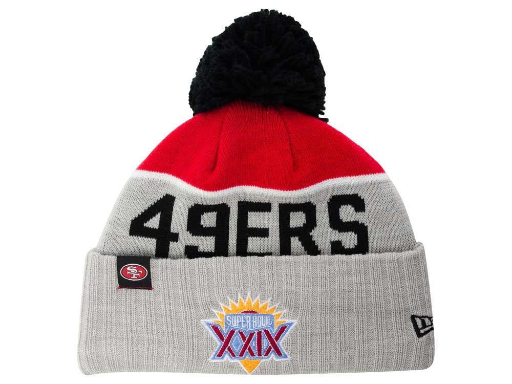 a18839b30 San Francisco 49ers New Era NFL Super Bowl Sport Knit