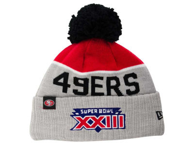 San Francisco 49ers New Era NFL Super Bowl Sport Knit