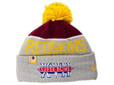 Washington Redskins New Era NFL Super Bowl Sport Knit