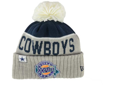 Dallas Cowboys New Era NFL Super Bowl Sport Knit