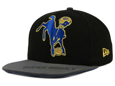 Baltimore Colts New Era NFL Super Bowl Logo Edge 9FIFTY Snapback Cap