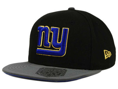 New York Giants New Era NFL Super Bowl Logo Edge 9FIFTY Snapback Cap