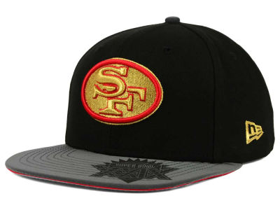 San Francisco 49ers New Era NFL Super Bowl Logo Edge 9FIFTY Snapback Cap