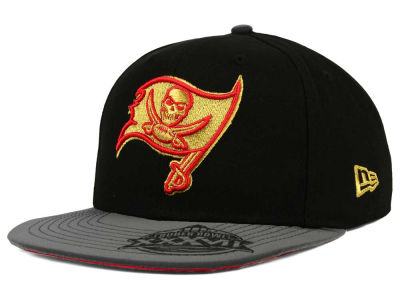 Tampa Bay Buccaneers New Era NFL Super Bowl Logo Edge 9FIFTY Snapback Cap