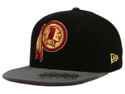 Washington Redskins New Era NFL Super Bowl Logo Edge 9FIFTY Snapback Cap