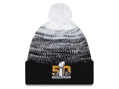 Super Bowl 50 New Era NFL Super Bowl 50 Women's Polar Dust Pom Knit