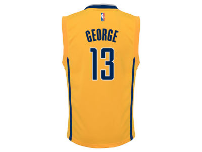 Indiana Pacers Paul George adidas Youth NBA Revolution 30 Jersey
