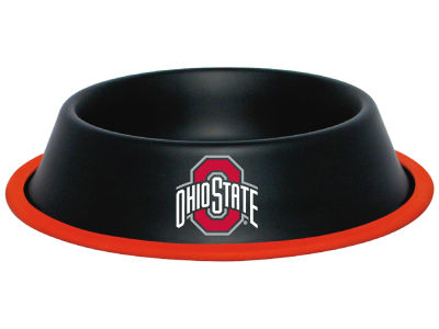 Ohio State Buckeyes 24oz Gloss Pet Bowl