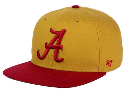 Alabama Crimson Tide '47 NCAA Sure Shot Snapback Cap