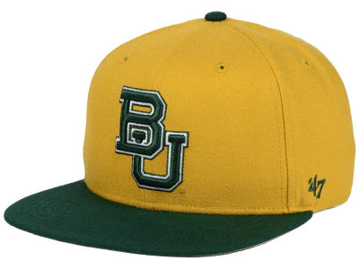 Baylor Bears '47 NCAA Sure Shot Snapback Cap