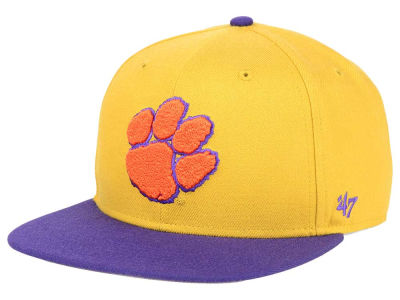 Clemson Tigers '47 NCAA Sure Shot Snapback Cap