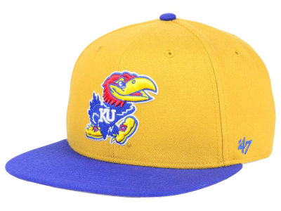 Kansas Jayhawks '47 NCAA Sure Shot Snapback Cap