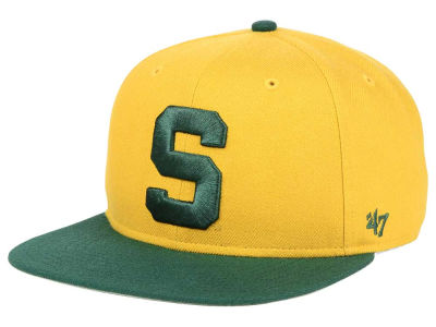 Michigan State Spartans '47 NCAA Sure Shot Snapback Cap