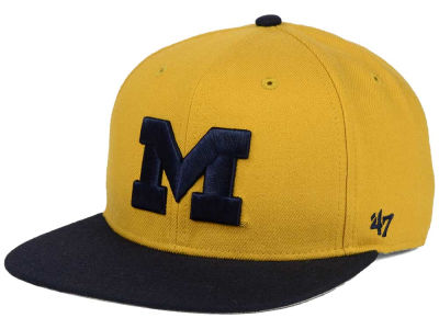 Michigan Wolverines '47 NCAA Sure Shot Snapback Cap
