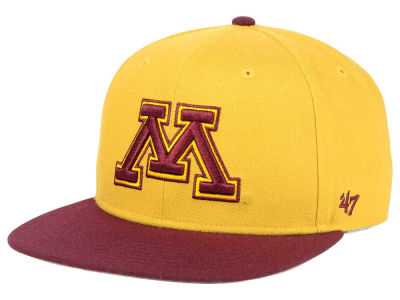 Minnesota Golden Gophers '47 NCAA Sure Shot Snapback Cap