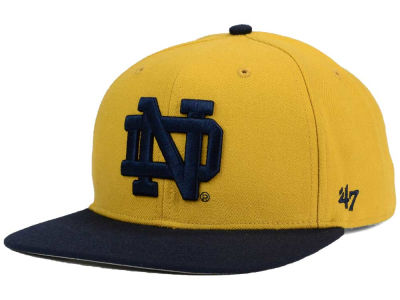 Notre Dame Fighting Irish '47 NCAA Sure Shot Snapback Cap