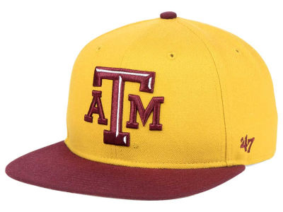 Texas A&M Aggies '47 NCAA Sure Shot Snapback Cap