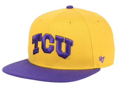 Texas Christian Horned Frogs '47 NCAA Sure Shot Snapback Cap